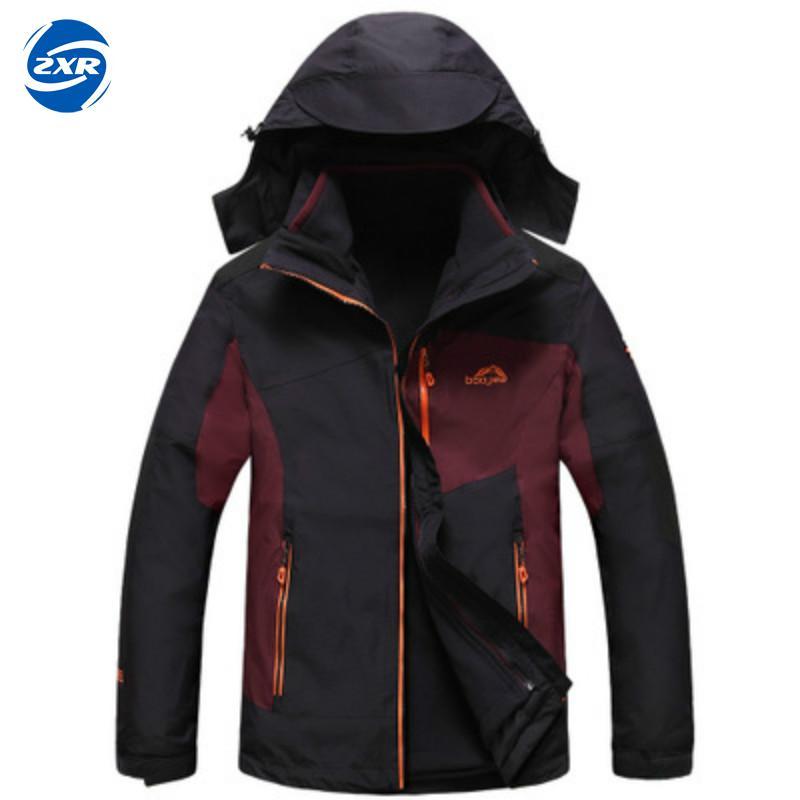 все цены на Zuoxiangru Men Winter Fleece Hiking Jacket Outdoor Sport Mountainskin Waterproof Coats Hiking Skiing Camping Female Jackets
