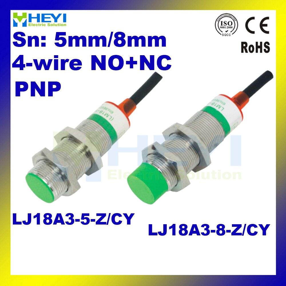 Inductive Proximity Switch Lj18a3 8 Z Cy Dc6 36v Pnp No Nc 5pcs Com Buy Ac90 1000v Induction Type Ac Circuit Detector Voltage Lot Sensor