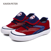 2018 Russia World Cup Boys Football Sneakers Girls Rubber Sole Canvas Shoes Children Sneakers Kids Causal