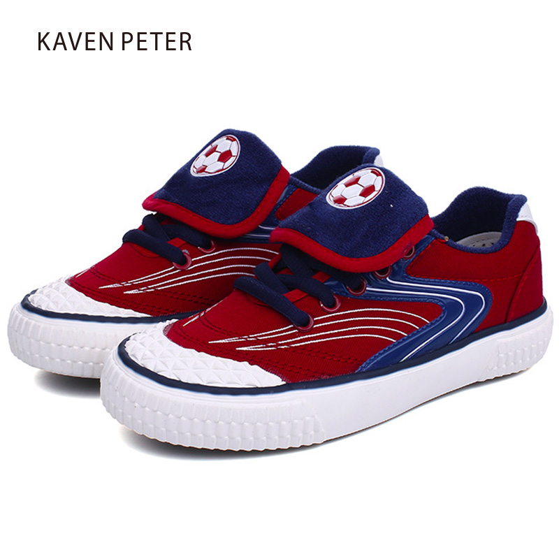 2018 Russia World Cup Boys Football Sneakers Girls Rubber Sole canvas Shoes children sneakers kids causal shoes size 29-37