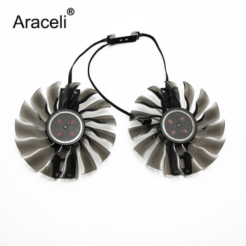 GTX1080 GTX1070 ti GTX 980 970 GTX980 Fan for GeForce Palit GTX1080ti GTX1070ti graphics GAA8S2H PFTB Video Card Cooling Fans image