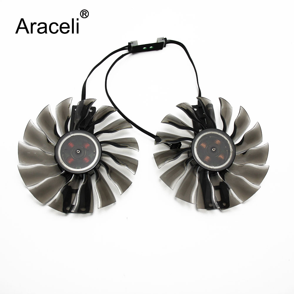 GTX1080 GTX1070 ti GTX 980 970 GTX980 Fan for <font><b>GeForce</b></font> Palit GTX1080ti <font><b>GTX1070ti</b></font> graphics GAA8S2H PFTB Video Card Cooling Fans image