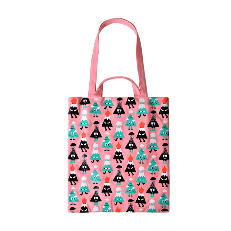 KIITOS LIFE canvas shopping bags with printings in season 1(FUN KIK)