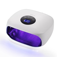 Makartt 48W SUN 3X UV Lamp LED Nail Dryer Curing Lamp Flexible Dual Adjustable Powers and 7 Timing Settings for Curing Nail Gel