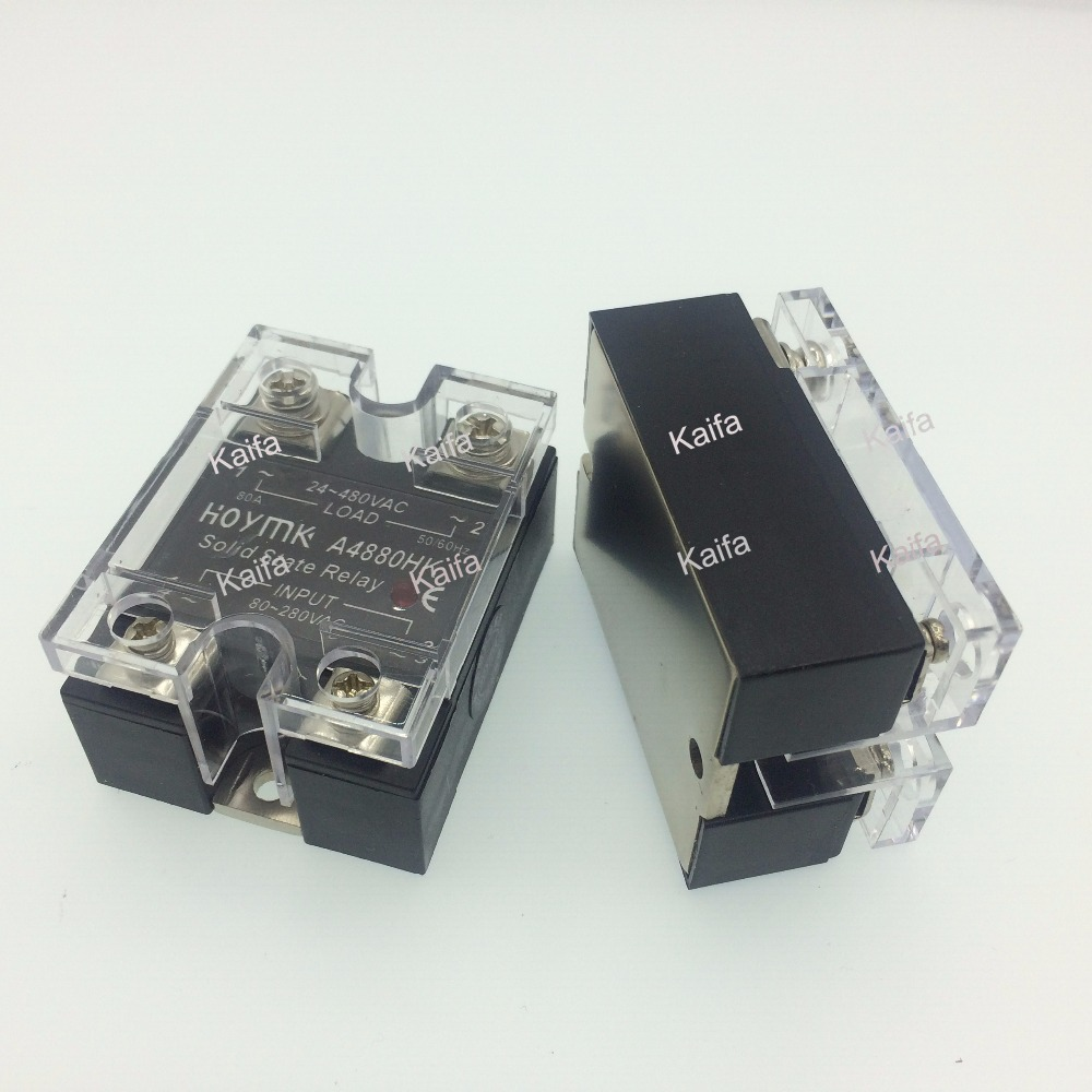 цена на wholesale genuine Solid State Relay  SSR-A4880HK 80A 24-480VAC