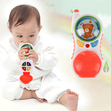Study musical learning cell educational sound plastic toys toy children kids