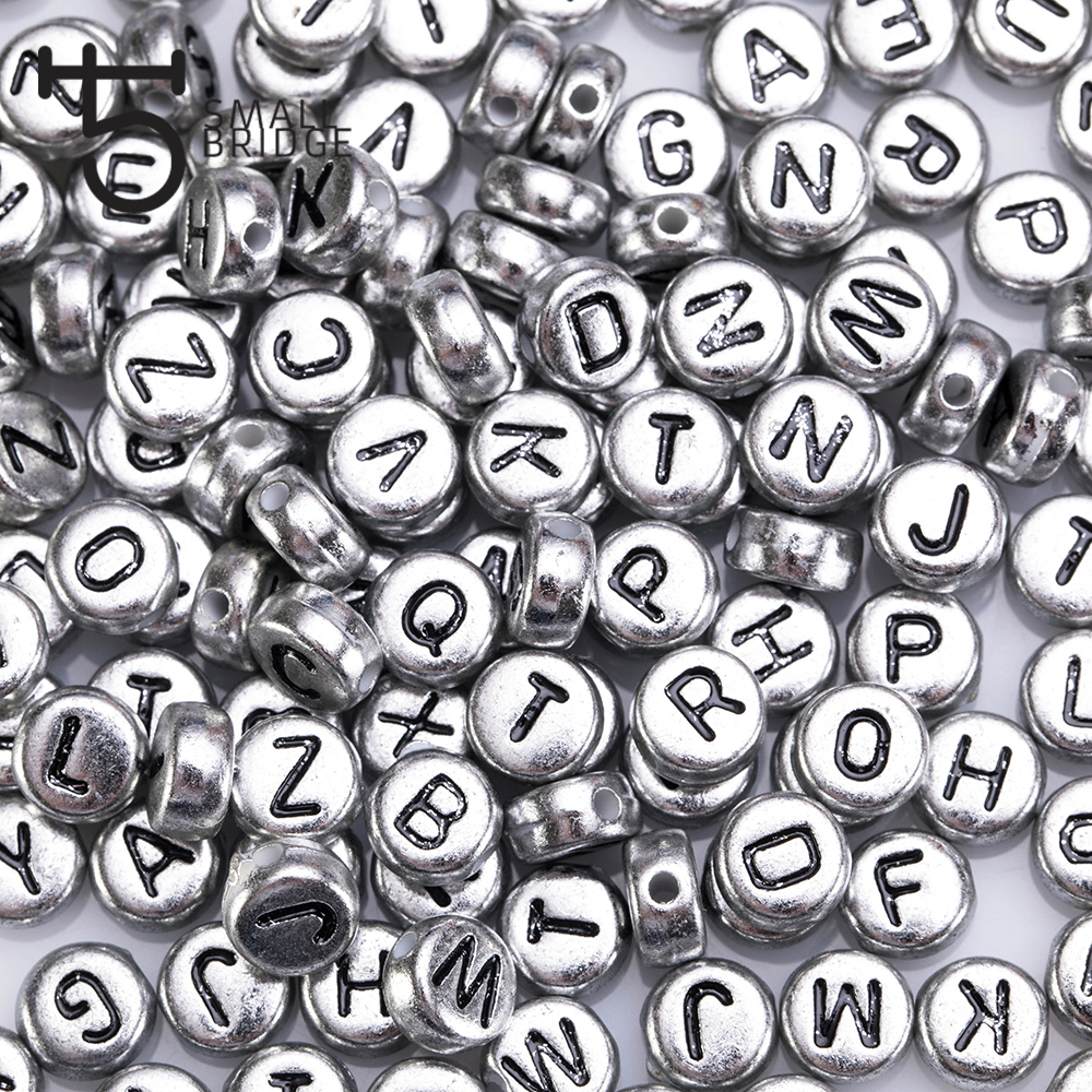 Penta Angel Metal Alphabet Pendant Charms Bulk 78Pcs Round Gold Silver Bronze English ABC Letter Charms Beads Jewelry Findings for Bracelet Necklace Jewelry Making and Crafts DIY
