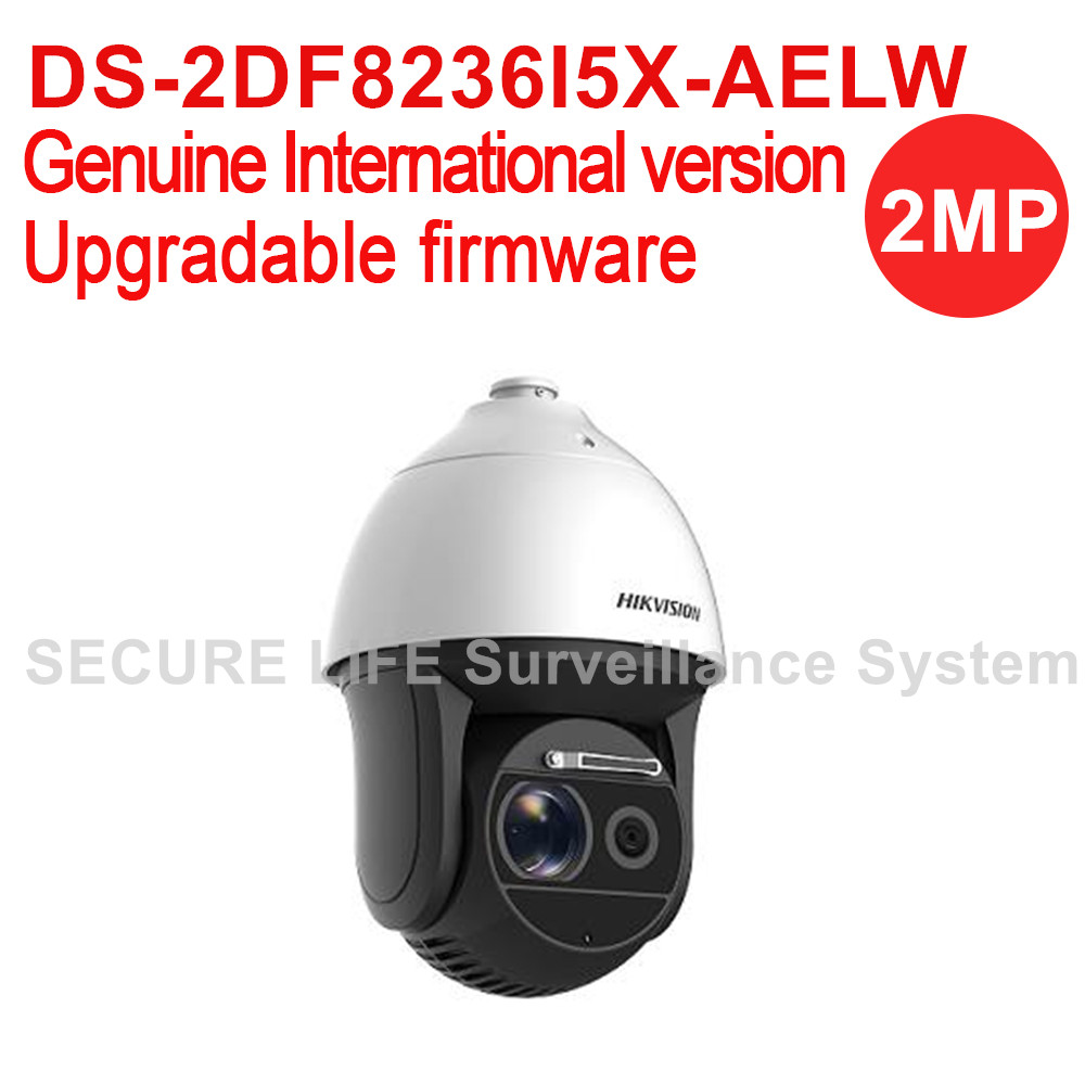 DS-2DF8236I5X-AELW International version 2MP Ultra-low Light Smart PTZ Camera 36X optical zoom, 500m IR Dark fighter with wiper hikvision ds 2df8223i ael english version 2mp ultra low light smart ptz camera ultra low illumination dark fighter