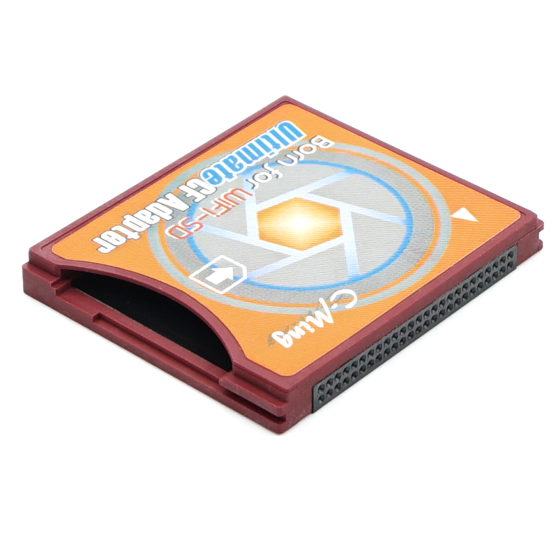 CF Adapter Compact Flash Card Adapter WiFi SD to Type II CF
