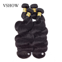 Human Hair Body Wave Bundles VSHOW Remy Hair 8 30inches 4 Bundles Human Hair Weaves Bundles