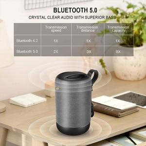 Image 5 - Bluetooth 5.0 אלחוטי רמקול 10w אלחוטי Bluetooth רמקול בס Ipx56 Waterproof built מיקרופון מוסיקה רמקולים עבור טלפון