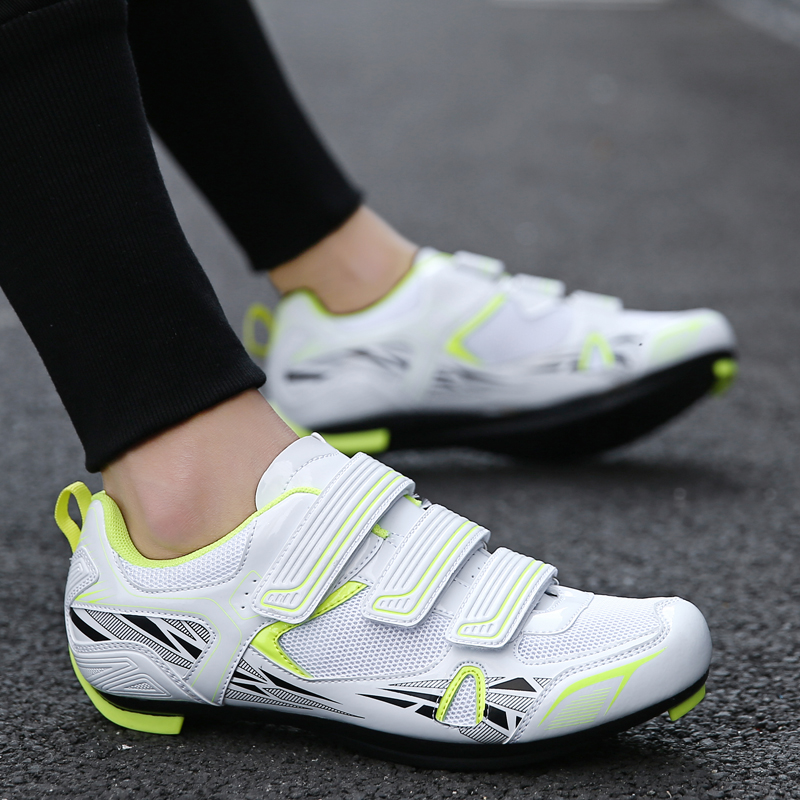 TOURSH MTB Cycling Shoes Men Bicycle Shoes Road Mountain Bike Shoes Sapatilha Ciclismo MTB Shoes MTB Krasovki Men 2018 White