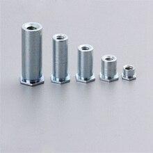 10 шт. 3,5 M3 BSO несквозное отверстие сжатия клепки bollar/заклепочная гайка/прижимная пластина столбики 5,4 наружный диаметр
