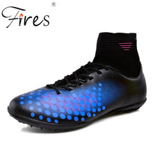 Fires Men Soccer Shoes Big Size Turf Outdoor Football Shoes Boots For Man Sport Training Shoes Sapatos de futebol Large Size
