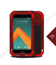 Original Love Mei Powerful Case For HTC M10/HTC 10 Lifestyle/htc 10 Waterproof Shockproof Aluminum Case Cover + Tempered Glass