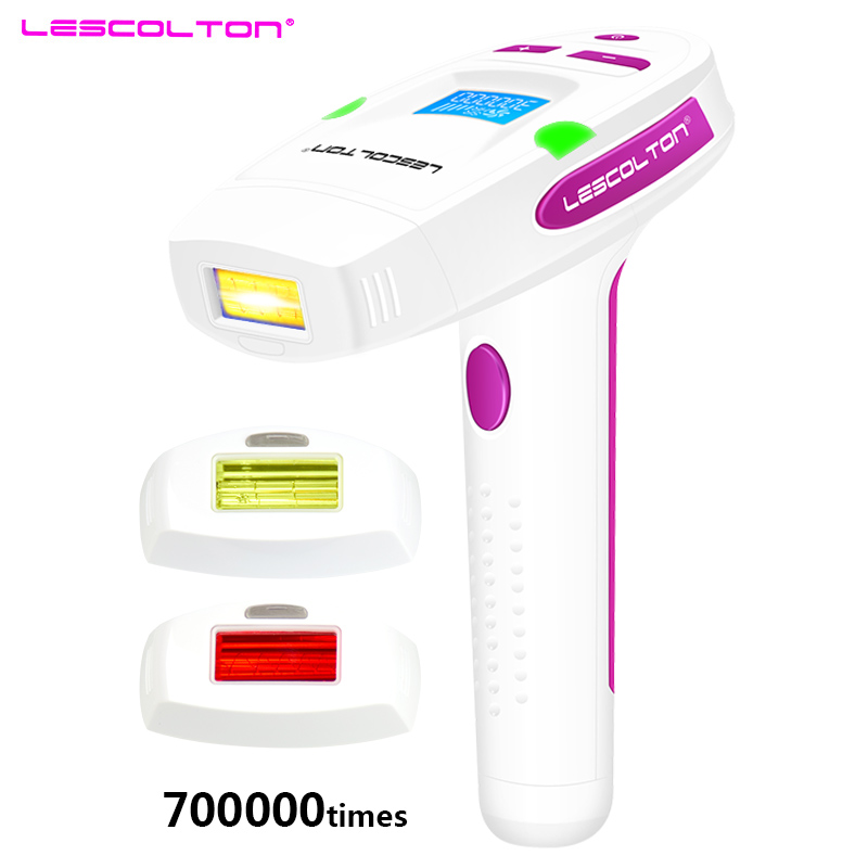 Lescolton 700000 Puls 3in1 IPL Épilation Au Laser Machine Laser Épilateur Épilation Permanente Bikini Trimmer depilador un laser