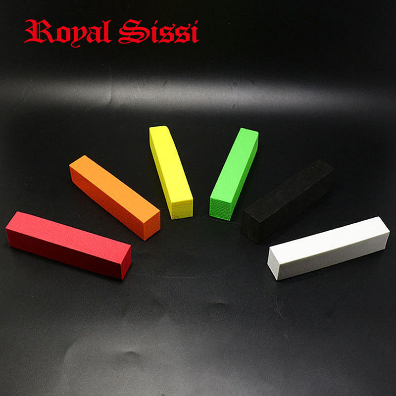 6colors super fine square foam post column pole length 10cm rectanguler foam cylinders EVA foam blocks float fly tying material