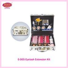 2017 Double Layer Beauty Grafting Eyelash Extension Kit False EyeLash Lashes Makeup Set with Silver Box