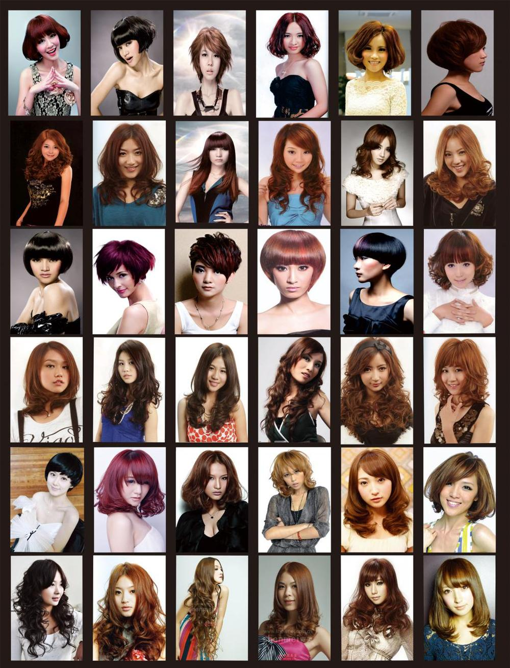 Barber Shop Haircut Chart Find Your Perfect Hair Style