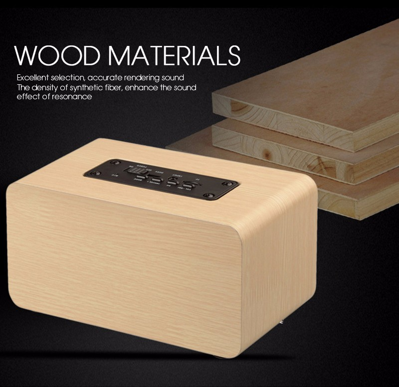 hifi bluetooth speakers wood receiver (6)