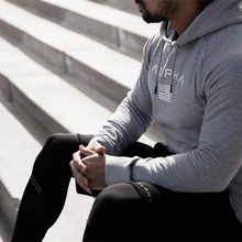 New Brand Sweatshirt Men Hoodies Fashion Solid Fleece Hoodie Gyms high quality Hoody Tracksuits Pullover Sportswear Clothing