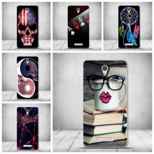 Luxury Cool Skull TPU Soft Silicon Cover Case For Lenovo A5000 A 5000 Case Phone Case Silicone thin Cartoon Original Back Cover