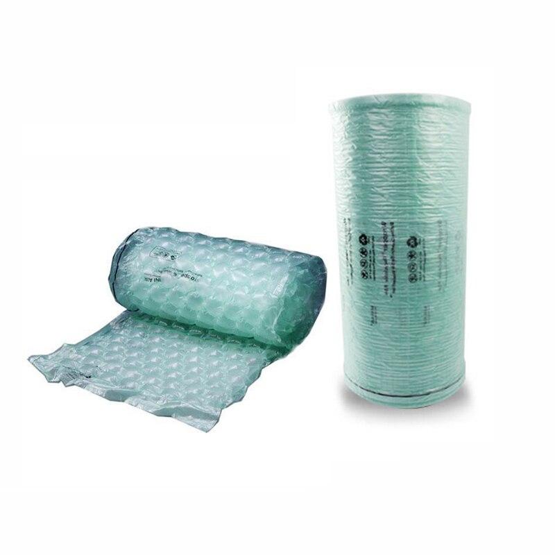 Air Cushion Wrapper Film 450M/roll 20UM 400mm Width High Density PE Material Meet ROHS Air Pillows Air Dunnage Packing Film