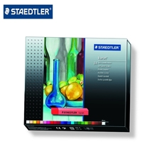 STAEDTLER 2430 C24 Karat 24 Color Dry Powder Pencil Set Professional Drawing Pencils Artist Dedicated