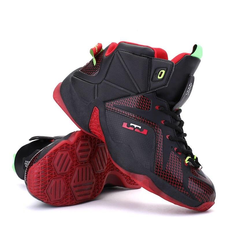 все цены на New Basketball Shoes Air Athletic Sports Shoes Basketball Training Boots Jordan Retro Shoes Men Sneakers Large Size 45 онлайн