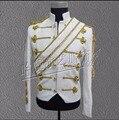 S-3XL Новый Мужской одежды Майкл Джексон концерт танец этап певец костюм униформа moonwalk куртка Блестками вечернее платье пальто