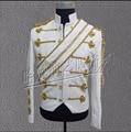 S-3XL Nueva ropa de Los Hombres de Michael Jackson concierto danza cantante etapa traje uniformes moonwalk chaqueta de Lentejuelas vestido formal de abrigo