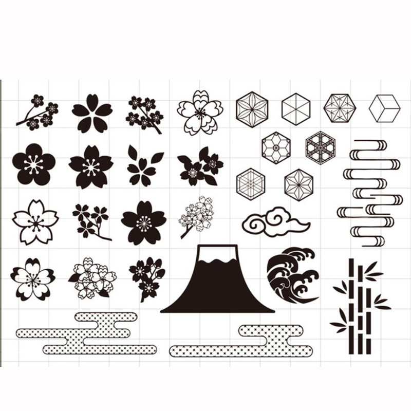 ZFPARTY Flowers Transparent Clear Silicone Stamp/Seal for DIY scrapbooking/photo album Decorative card making lovely animals and ballon design transparent clear silicone stamp for diy scrapbooking photo album clear stamp cl 278