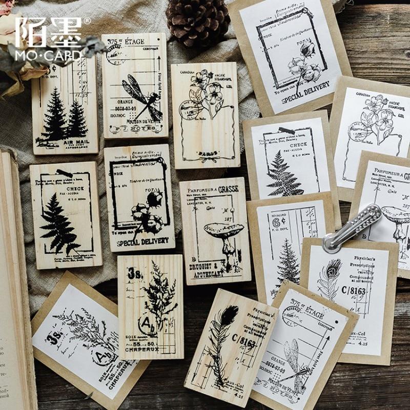 1 шт. серия Nature notes деревянный резиновый штамп для детей DIY ручной работы скрапбук фотоальбом, штамп для учащихся искусство, Ремесла подарки|Штампики|   | АлиЭкспресс