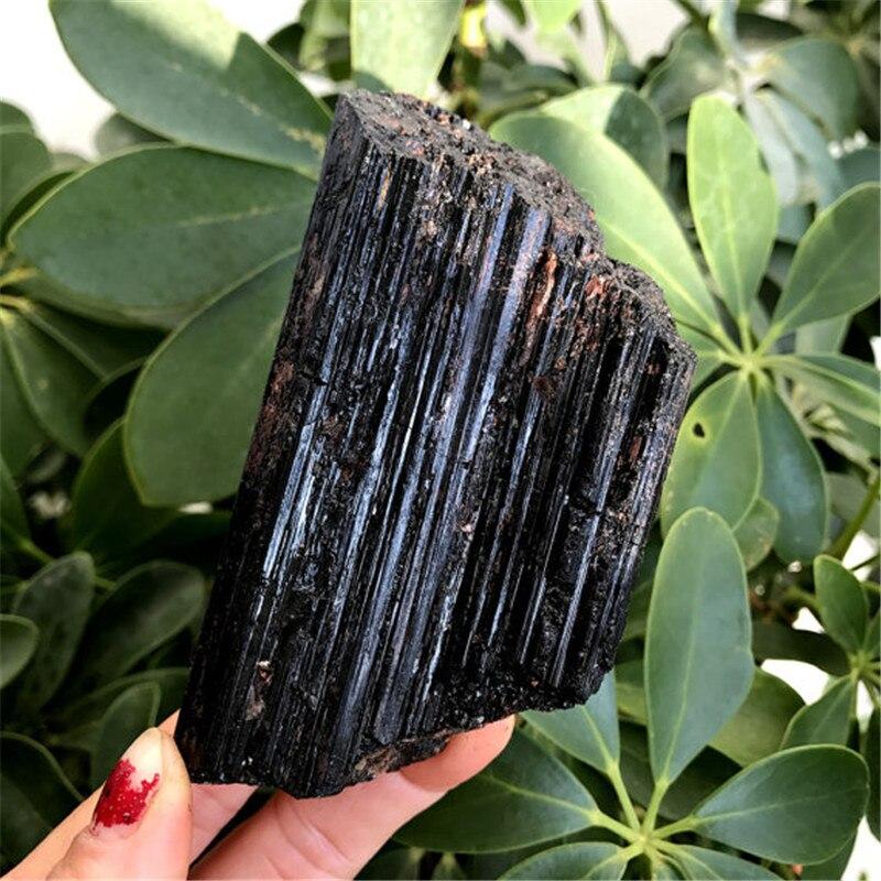 hot sale 100% Natural Black Tourmaline Schorl Reiki Healing Energy Healing Gemstone as collection