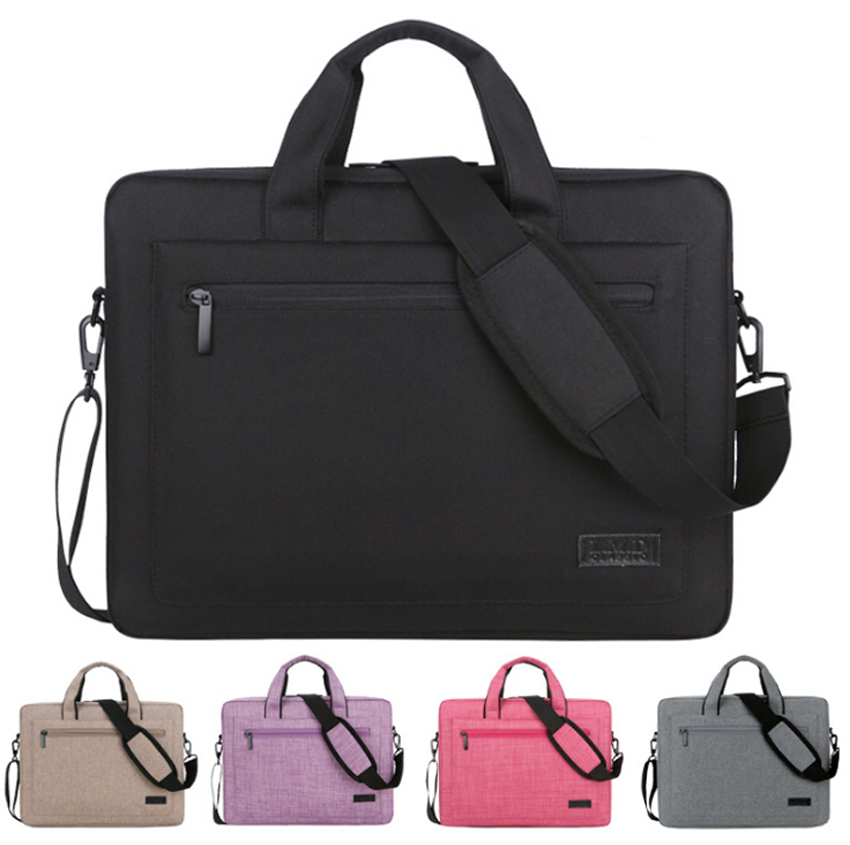 12 13 13.3 14 15 15.6 17 17.3 Inch Waterproof Computer Laptop Notebook Tablet Bag Bags Case Messenger Shoulder for Men Women