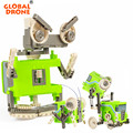 4 IN 1 Electronic Robot Science And Education Brick Constructor Board Games Toys For Children
