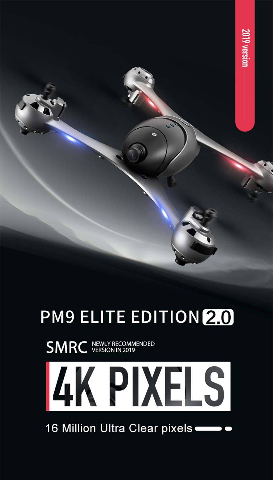 SMRC M6 Drone Quadcopter profesional 2
