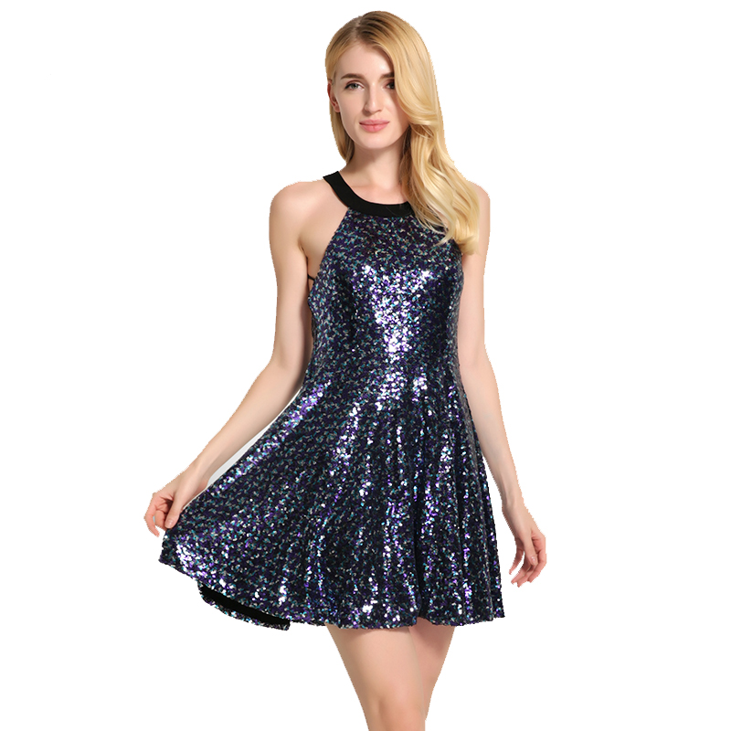 Popular Sequin Backless Dress-Buy Cheap Sequin Backless Dress lots ...