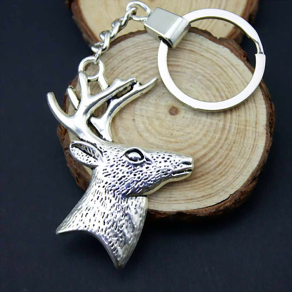 Home Party Favors Deer Head Decoration Party Holder Souvenir Pendants Jewelry Making DIY Craft Supplies Paper Gift Box