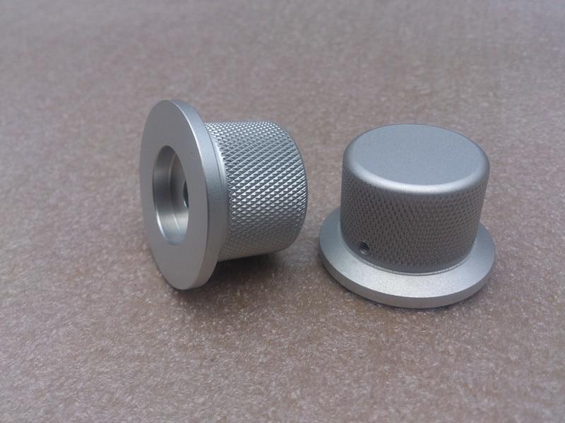 Диаметр 38 мм ручка Диаметр 30 мм высокой 25 мм рифленой алюминиевой одноцветное Объем потенциометра Усилители звука ручка