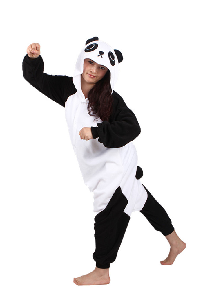 Animal Cosplay Costumes Adult All in One Pyjamas JP Kungfu Panda Pajamas  Kung Fu Panda Onesies Cartoon Sleepwear a8c56a1193b4c