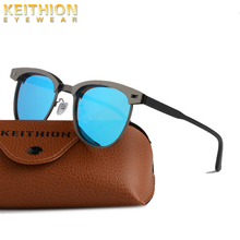 KEITHION Classic Polarized Sunglasses Women Retro Brand Designer Sun Glasses Female Male Fashion Round Mirror Eyewear