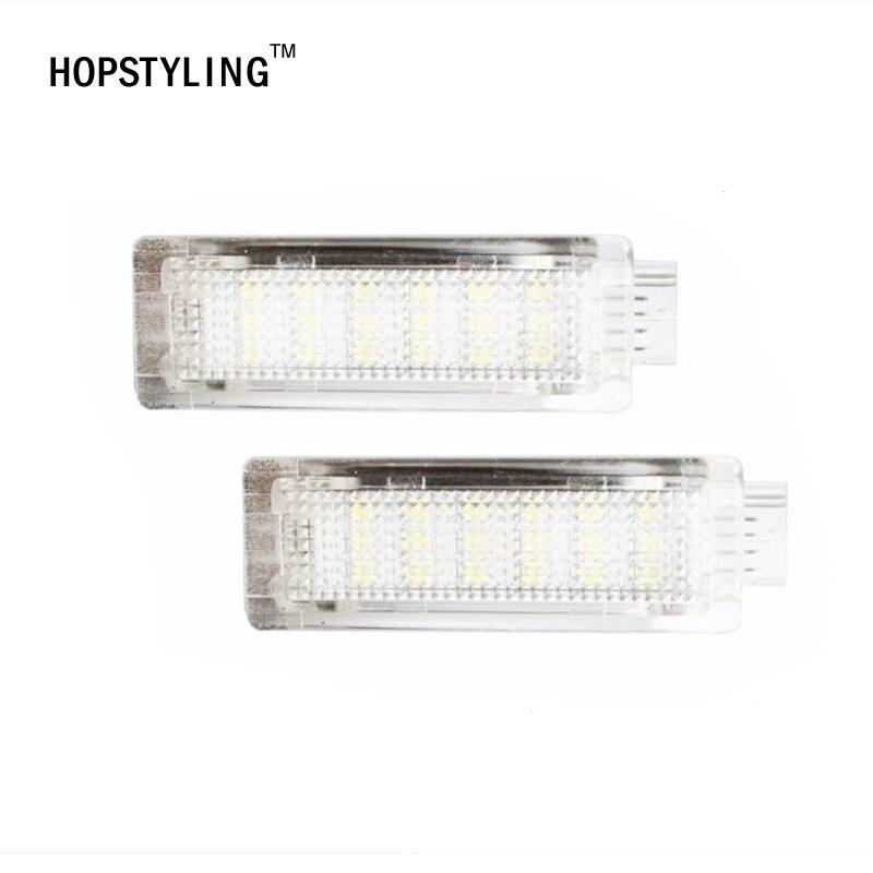 2x LED Car courtesy step door light without logo For E84 F01N F02N F03N F20 F30 F31 F31 F34 auto accessory for BMW LED bulb