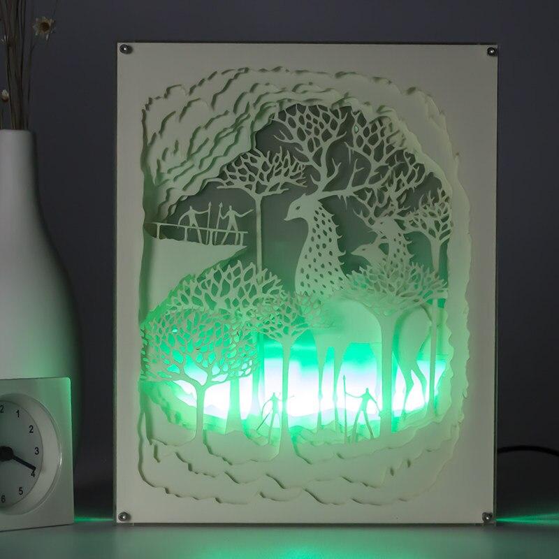 Beste Leuchten Bilderrahmen Zeitgenössisch - Benutzerdefinierte ...