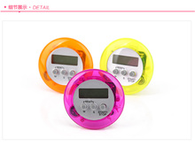 100PCS Novelty Digital Kitchen Timer Kitchen Helper Mini Digital LCD Kitchen  Count Down Clip Timer Alarm
