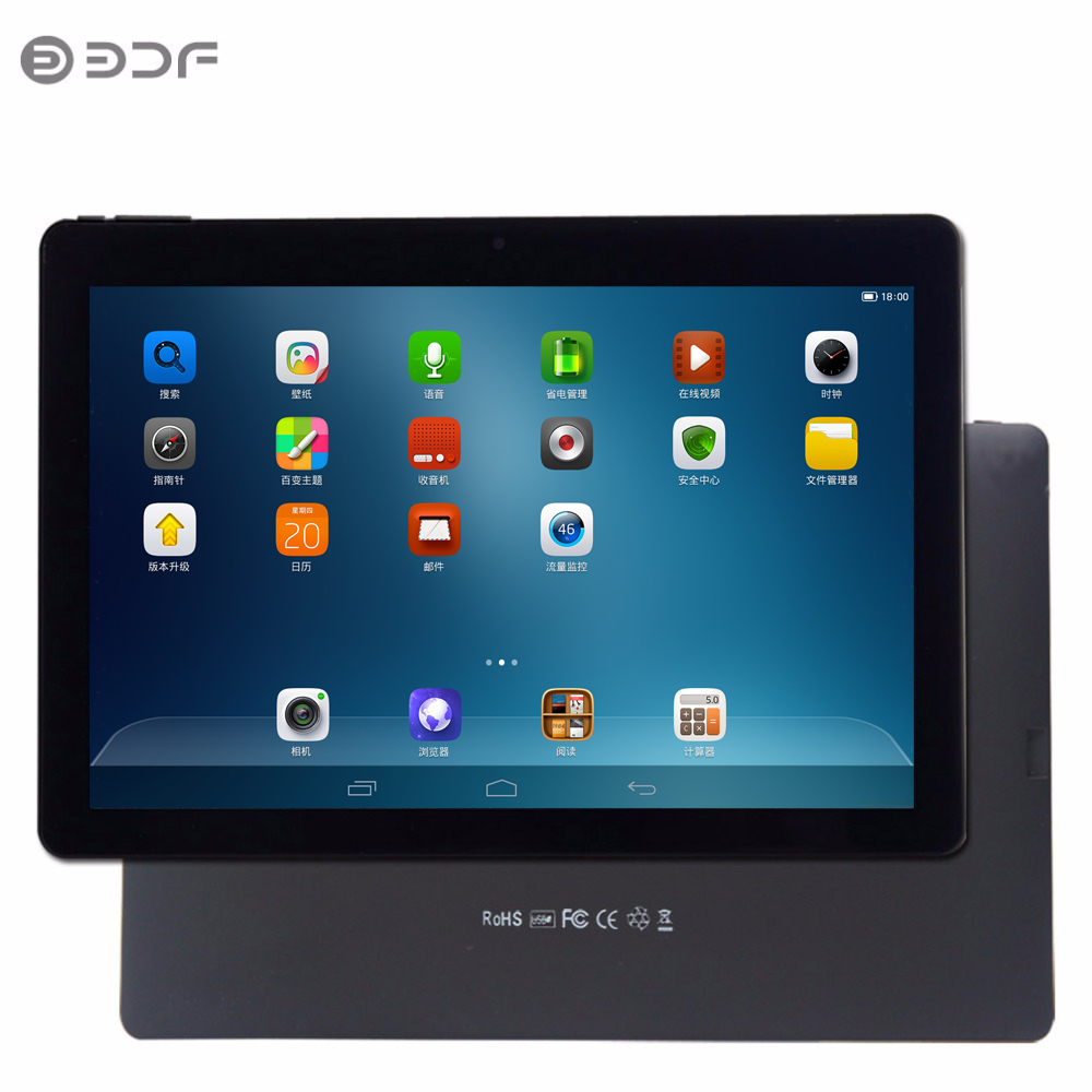 BDF Fashion 10.1 Inch Android 5.0 Tablets PC Quad Core 1GB 32GB Dual Camera 1280*800 Lcd Tab Pc Cheap And Simple Tablet Pc 7 8