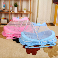 Hot Sale Baby Mosquito Net Bed Net Can Cotton padded Mattress Pillow Tent Foldable Portable|Crib Netting|Mother & Kids -