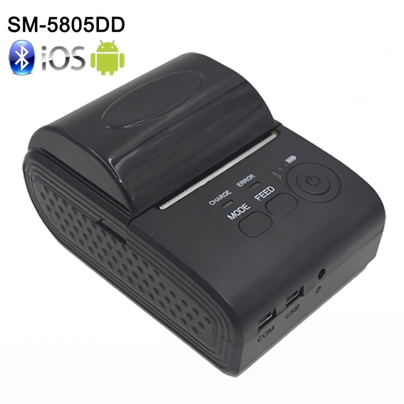 58mm Mini Portable Bluetooth 4 0 Wireless font b Receipt b font Thermal font b Printer