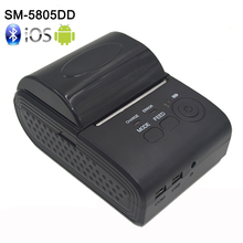 58mm Mini Portable Bluetooth 4.0 Wireless Receipt Thermal Printer for IOS Android Windows USB POS Printer