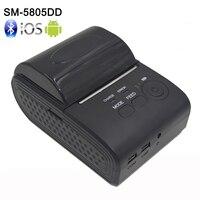 58mm Mini Portable Bluetooth 4 0 Wireless Receipt Thermal Printer For IOS Android Windows USB POS
